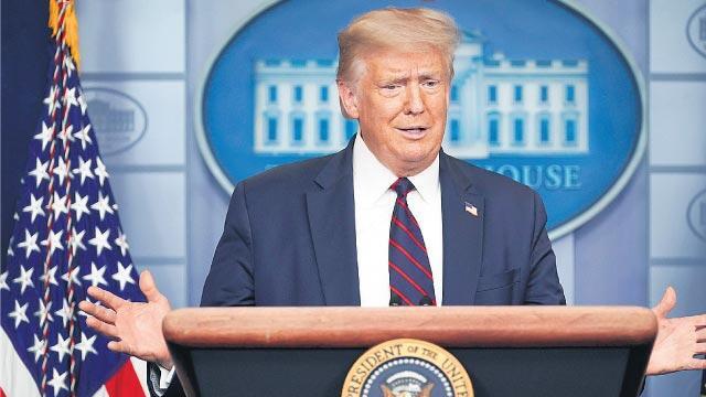 Trump 2021 Savunma Bütçe tasarısını veto edeceğini açıkladı
