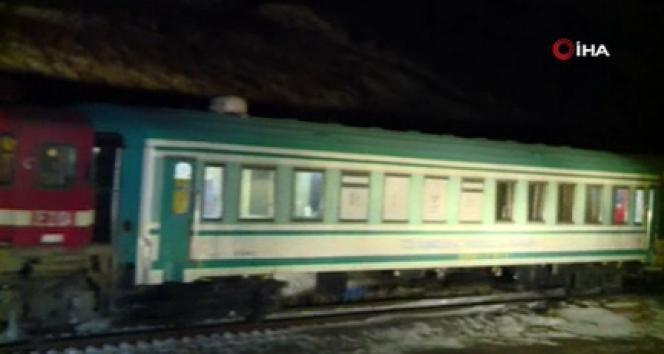Türkiye'den Çin'e giden ilk ihracat treni Gürcistan'da