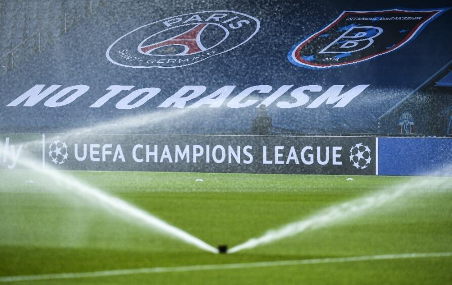 Şampiyonlar Ligi'nde tarihe geçen görüntüler! - Resim: 4