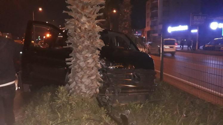AK Partili isimlerin kaza anı kamerada