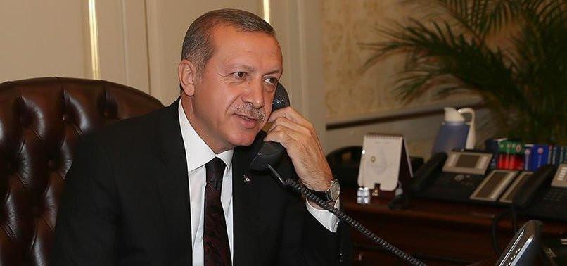 Erdoğan, Kırgız liderle görüştü