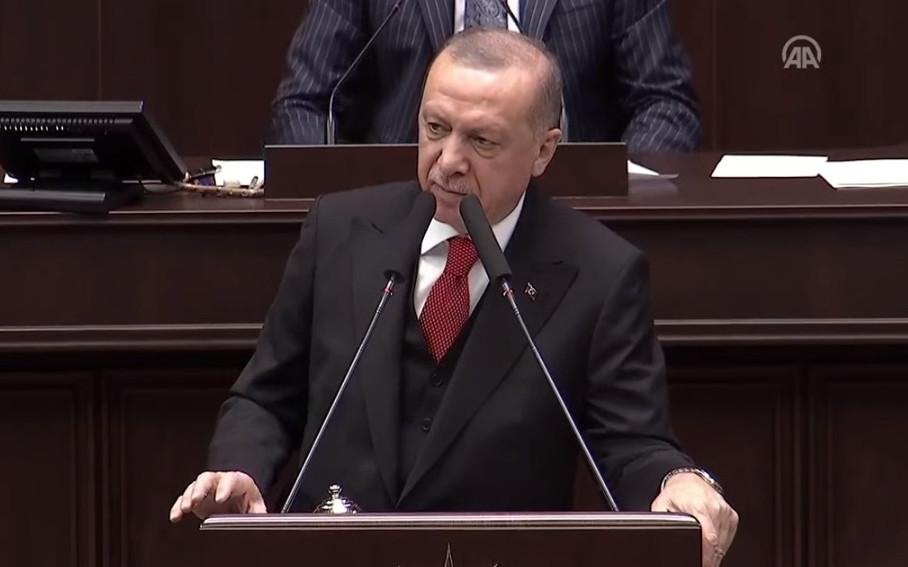 Erdoğan: ''Rejim güçlerini vuracağız!''