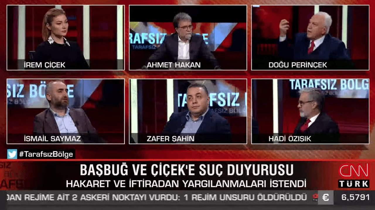 Ahmet Hakan'la Tarafsız Bölge'ye damga vurdu: ''Başbuğ darbe yapsaydı!''