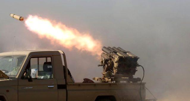 Irak'ta ABD askeri üssüne füzeli saldırı !
