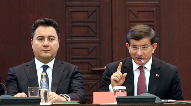 AK Parti'de Davutoğlu ve Babacan önlemi