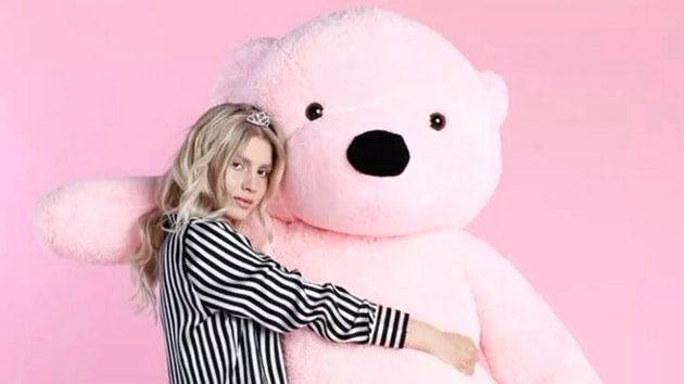 Aleyna Tilki: Kliplerimdeki ayılar birçok ünlüden daha ünlü
