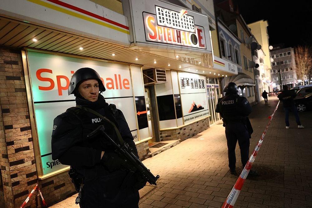 Almanya'daki kanlı saldırıdan fotoğraflar