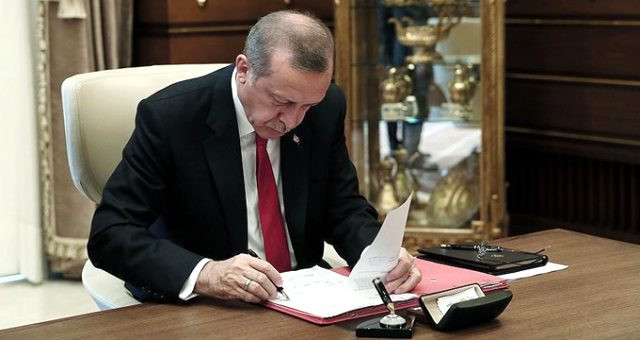 Cumhurbaşkanı Erdoğan'dan dikkat çeken atama