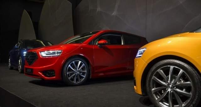 KKTC ilk yerli otomobili ''Günsel''i tanıttı