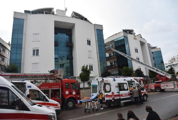Rezidansta korku dolu anlar! 12 kişi hastanelik oldu