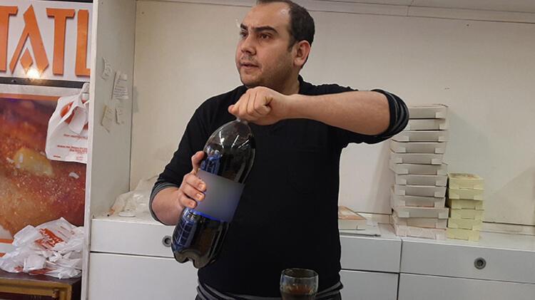 15 yıldır günde 5 litre kola içiyor !