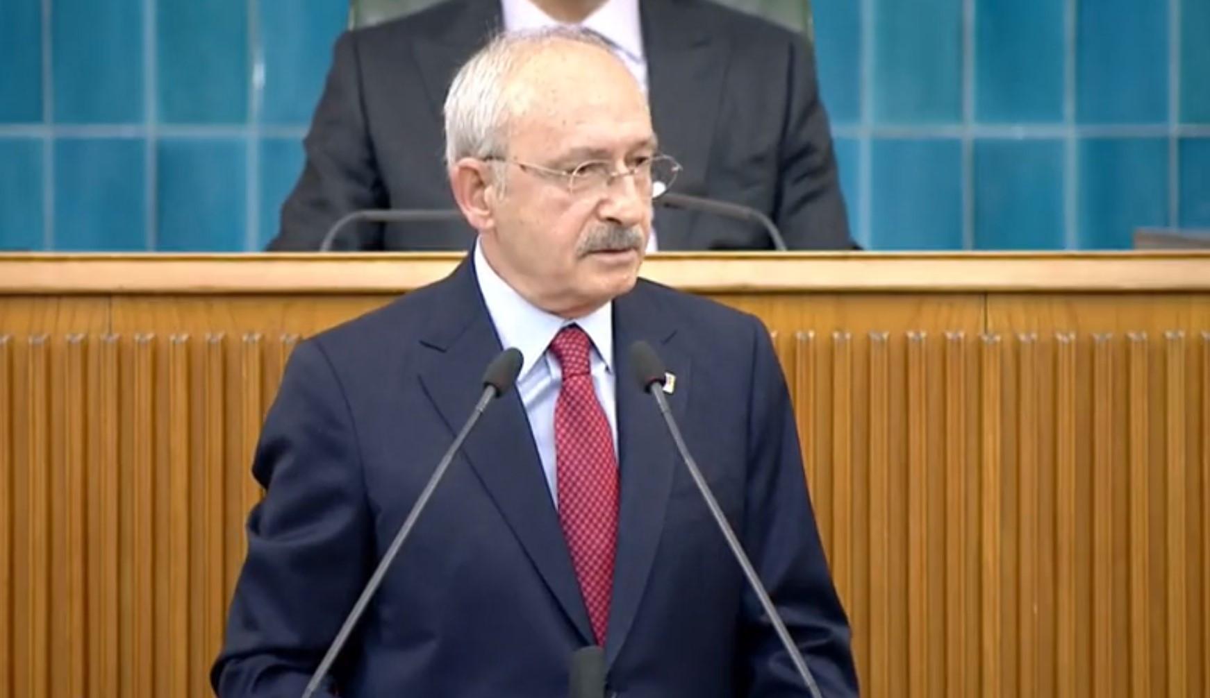 CHP lideri Kılıçdaroğlu: ''Bu kararı verenler Saray'ın köleleridir''