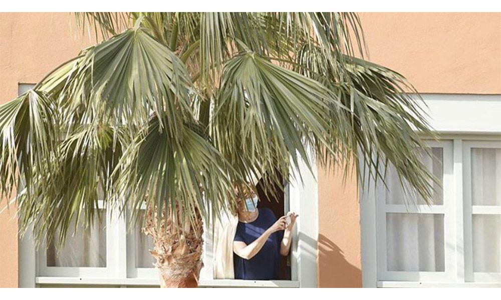 Koronavirüs'ten karantinaya alınan otelden ilginç fotoğraflar