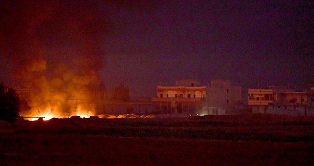 TSK'dan Suriye'ye ''şok dalga'' saldırısı