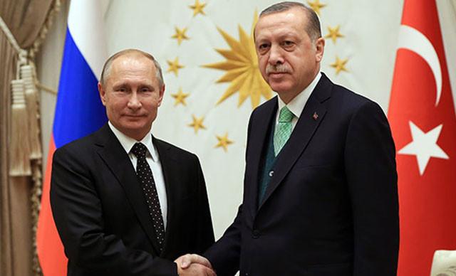 Cumhurbaşkanı Erdoğan'dan Rusya lideri Putin ile kritik görüşme
