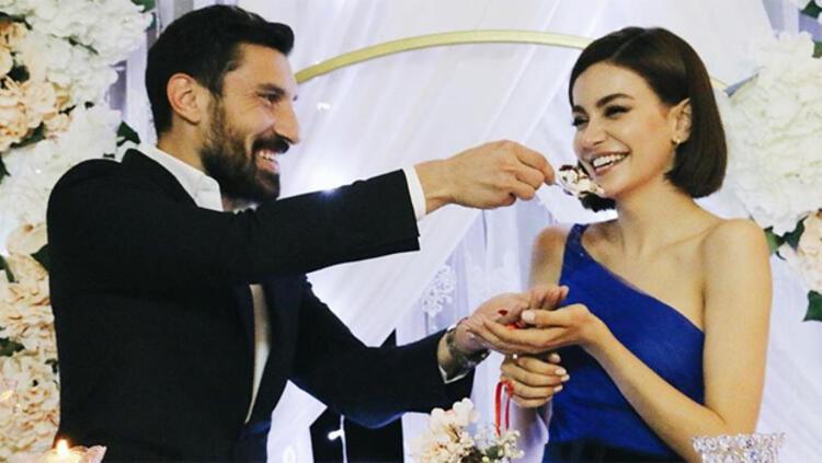 Şener Özbayraklı ile Şilan Makal nişanlandı