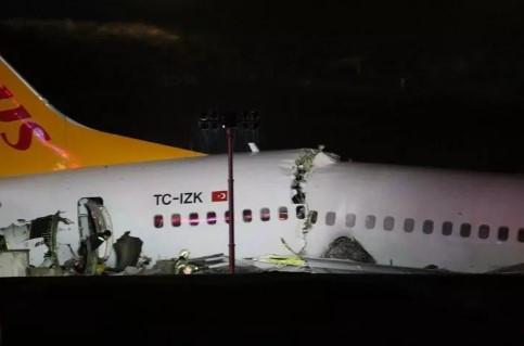Uçak kazasına giden ekipler kaza yaptı: Yaralı polisler var
