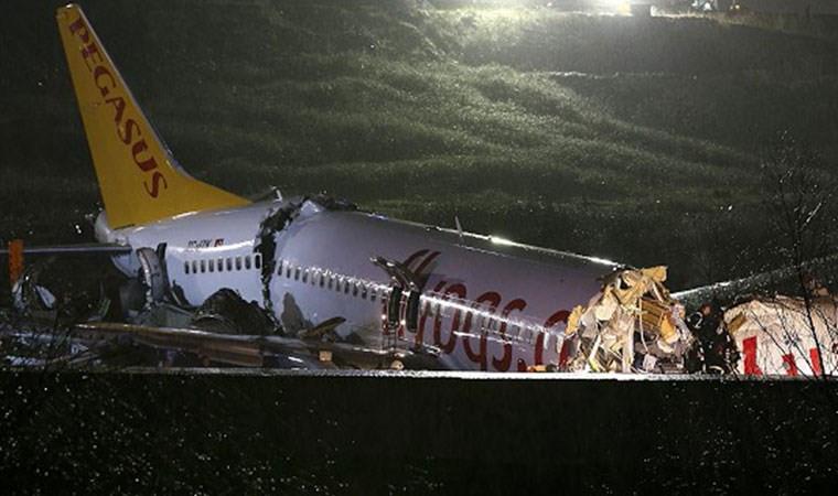 Pegasus'tan uçak kazası açıklaması