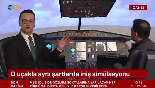 Havalimanındaki uçak kazası nasıl yaşandı ? Simülasyonda canlandırdılar