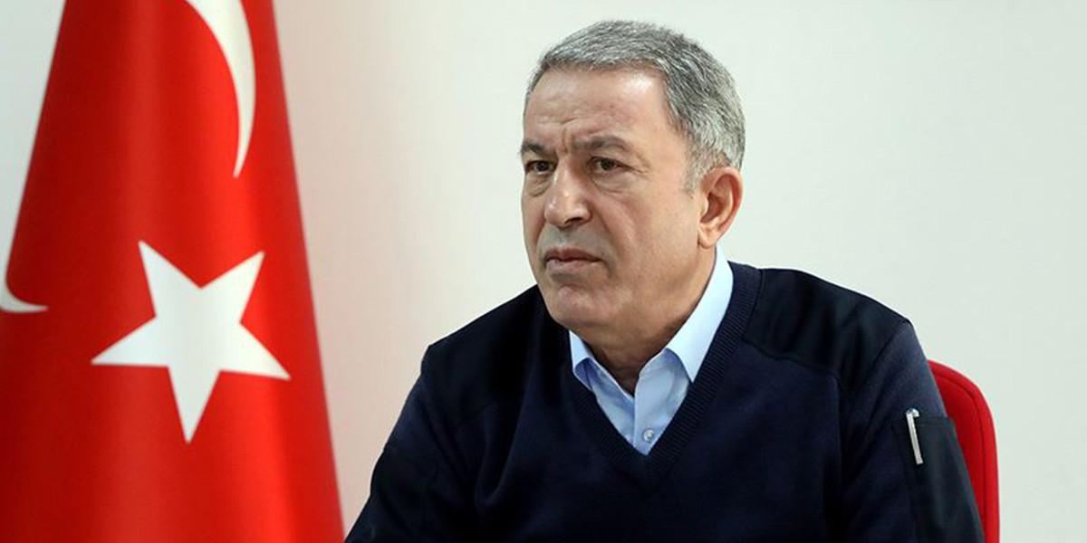 Bakan Hulusi Akar: ''2 bin 212 rejim askeri öldürüldü''