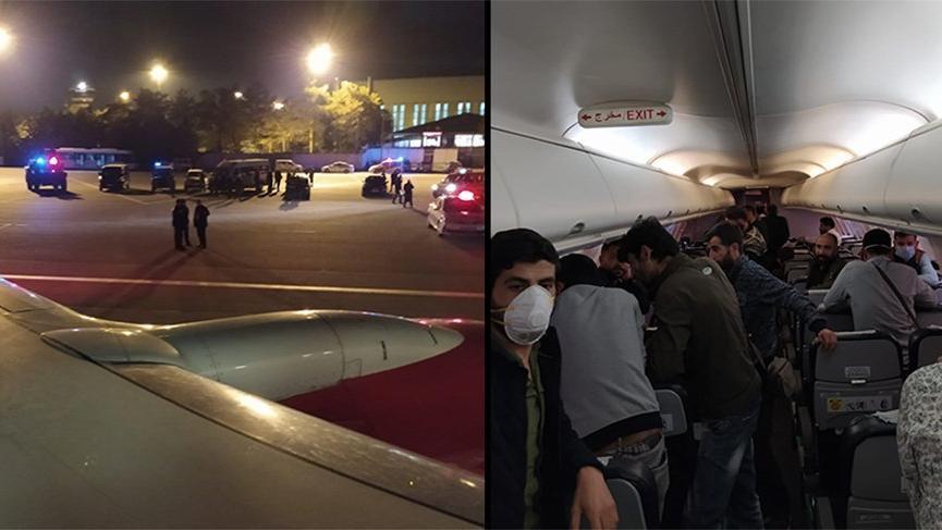 Bağdat-İstanbul uçağı Esenboğa'ya acil iniş yaptı