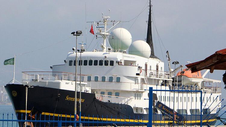Alanya'ya kruvaziyer gemisi geldi