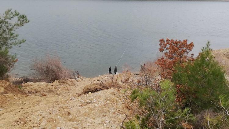 Baraj gölünde korkunç olay! Kesik kol bulundu
