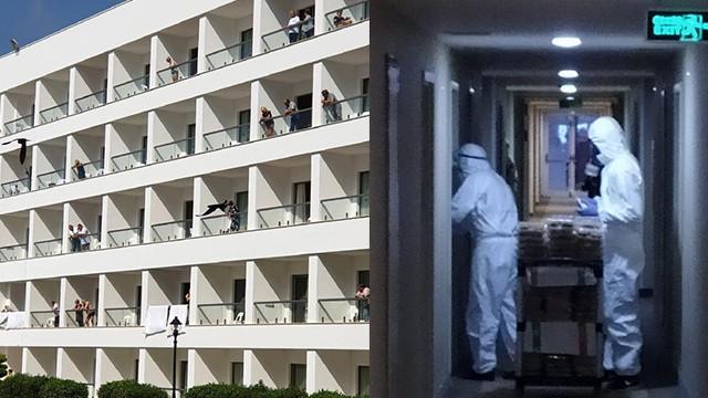 KKTC'de karantina otelindeki Türk rehberler, son durumu anlattı