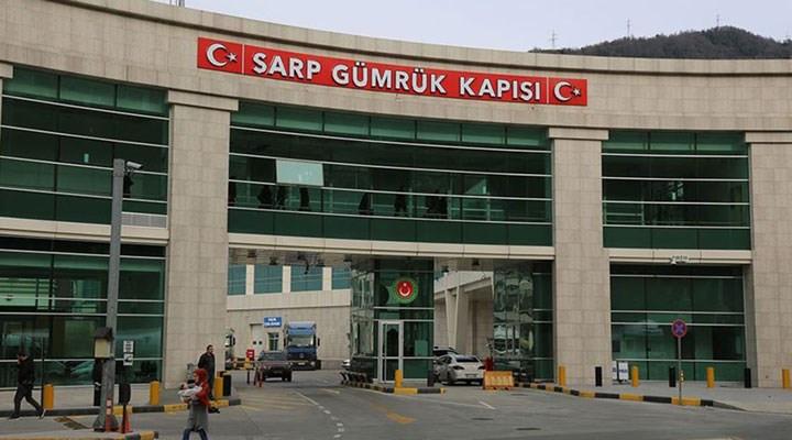 Sarp Sınır Kapısı, yolcu geçişlerine kapatıldı