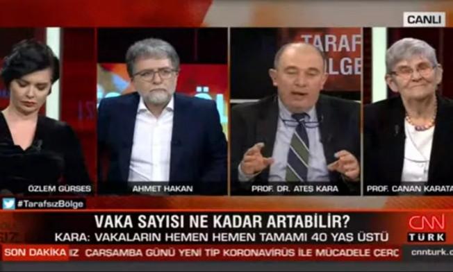 ''Türkiye'deki 18 koronavirüs vakasının hepsi 40 yaşın üstünde''