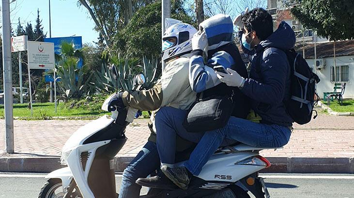 Antalya'da koronavirüs önlemli tehlikeli yolculuk