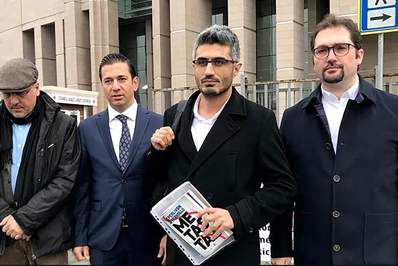 Gazeteci Barış Pehlivan'a cezaevi girişinde şiddet iddiası