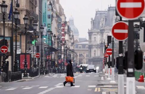 Fransa'da korkutan koronavirüs istatistiği