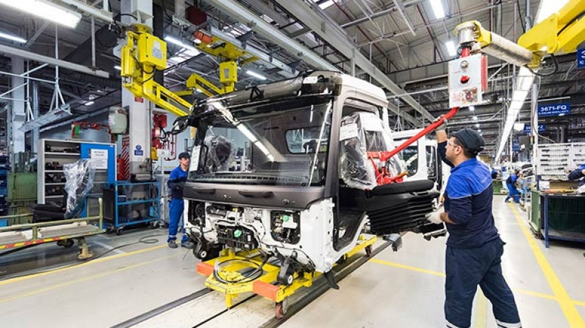 Mercedes-Benz Türk üretime ara verdi