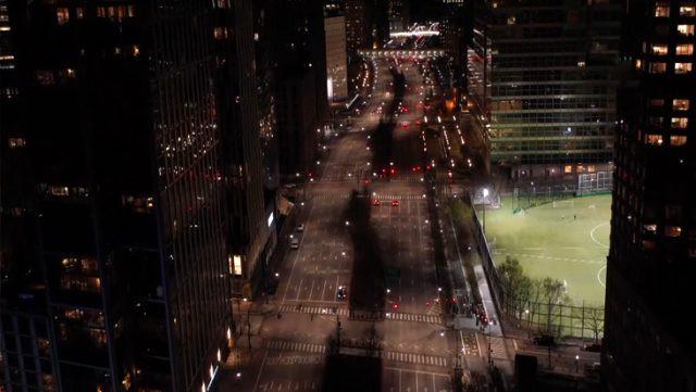 New York koronavirüs nedeniyle hayalet şehre dönüştü