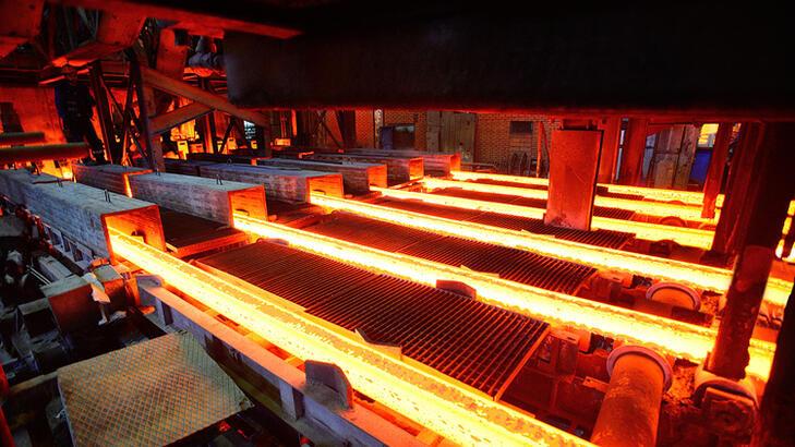 Küresel ham çelik üretimi şubat arttı