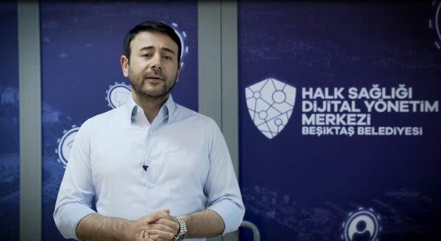 Beşiktaş Belediyesi sağlık çalışanlarının yanında