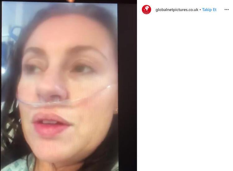 Koronavirüse yakalanan kadının videosu olay olmuştu! İşte son hali