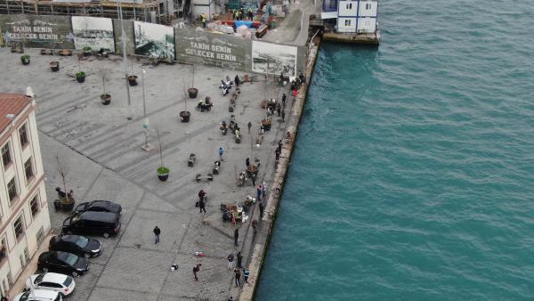 İstanbul'da yine aynı manzara