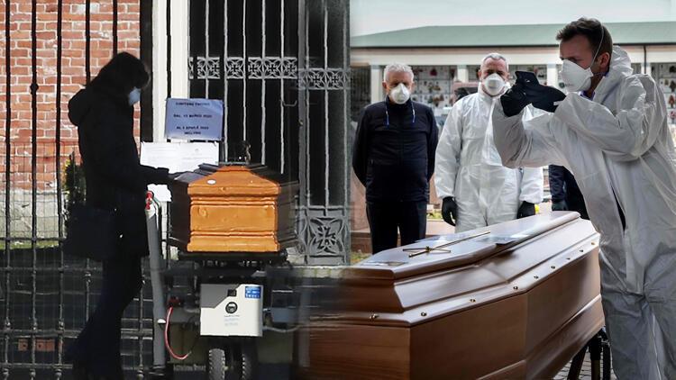 İtalya'da cenaze törenleri yasaklandı