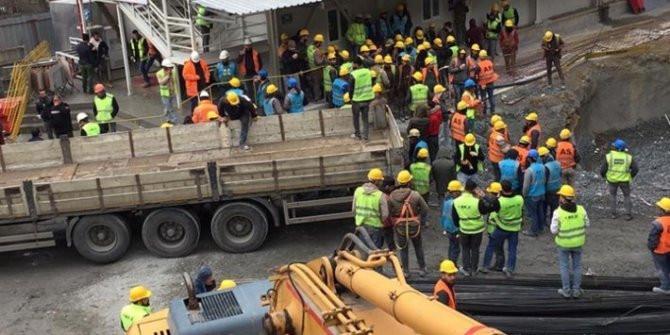 YHT inşaatında koronavirüs alarmı: 300 işçi karantinada!