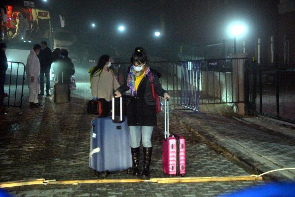 Yurt dışından gelen 168 kişi karantinaya alındı