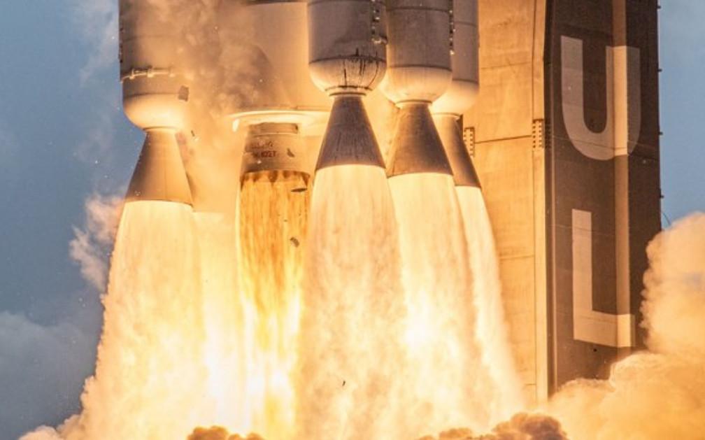 ABD Uzay Kuvvetleri ilk roketini fırlattı