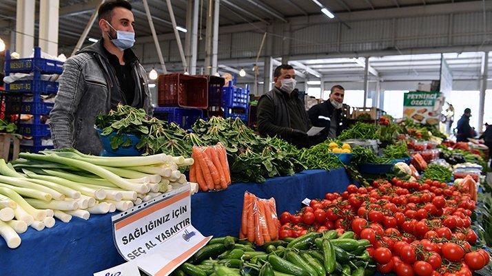 Karantina ayında gıda enflasyonu yıllık yüzde 16,44 arttı !