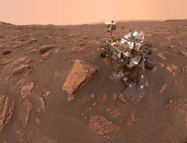 NASA açıkladı: Mars'ta 100'den fazla ses kaydedildi