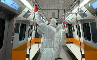 İstanbul metrolarında ''virüs'' önlemi