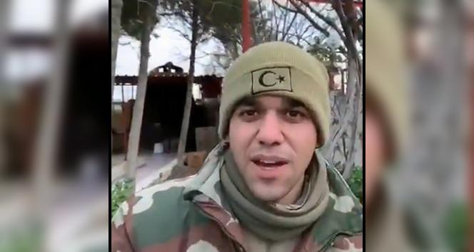 İdlib şehidinin son videosunda yürek yakan ayrıntı