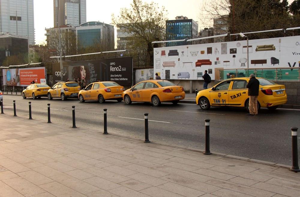 İstanbul ulaşımında corona virüs sessizliği