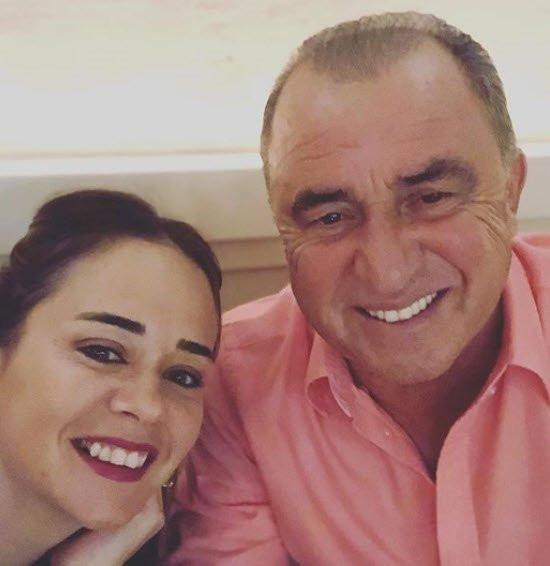 Fatih Terim'in kızı Merve Terim Çetin'den olay paylaşım