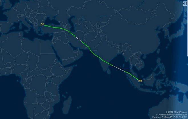 İstanbul'dan kalkan uçakta corona virüsü çıktı ! Hasta yolcuyla ilgili ilk açıklama
